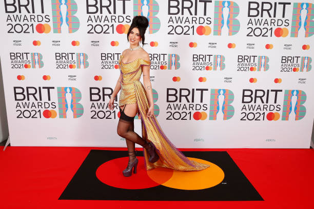 GBR: The BRIT Awards 2021 - VIP Arrivals