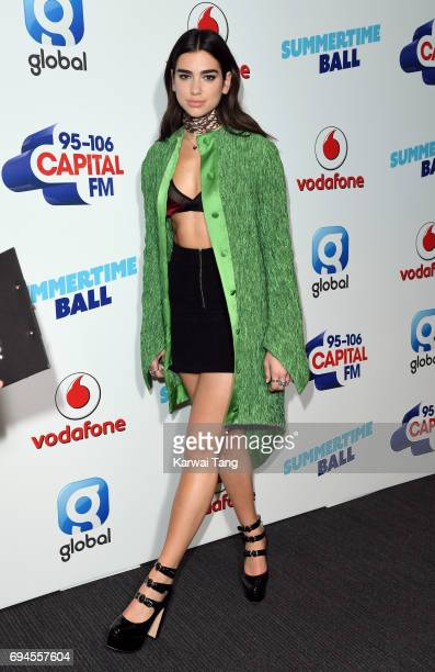 Dua Lipa attends the Capital Summertime Ball at Wembley Stadium on June 10 2017 in London United Kingdom