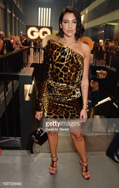 Dua Lipa attends the GQ Men of the Year Awards 2018 in association with HUGO BOSS at Tate Modern on September 5 2018 in London England