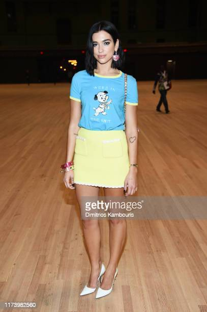 Dua Lipa attends the Marc Jacobs Spring 2020 Runway Show at Park Avenue Armory on September 11, 2019 in New York City.