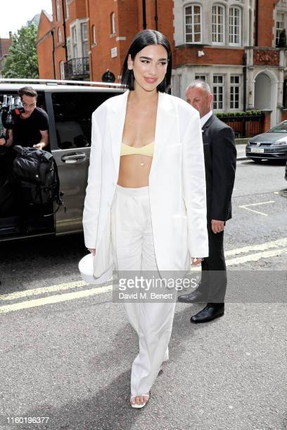 Dua Lipa attends the Nordoff Robbins O2 Silver Clef Awards 2019 at The Grosvenor House Hotel on July 05, 2019 in London, England.