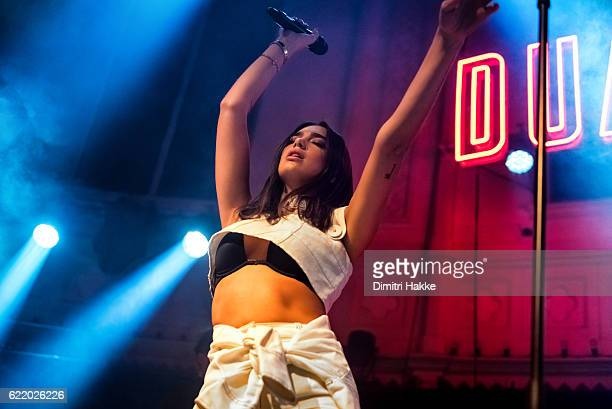 Dua Lipa is an English singer songwriter and model Her selftitled debut studio album is scheduled to be released on 10 February 2017 Photo taken on...