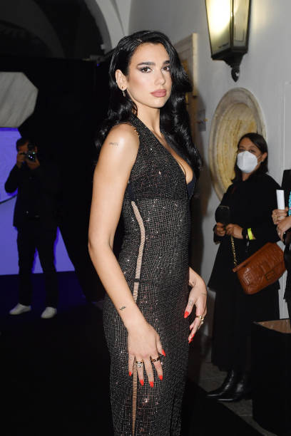 ITA: Versace Special Event  - Outside Arrivals - Milan Fashion Week Spring / Summer 2022