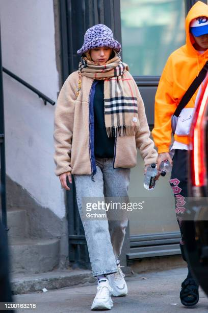 Dua Lipa is seen in the East VIllage on January 17, 2020 in New York City.