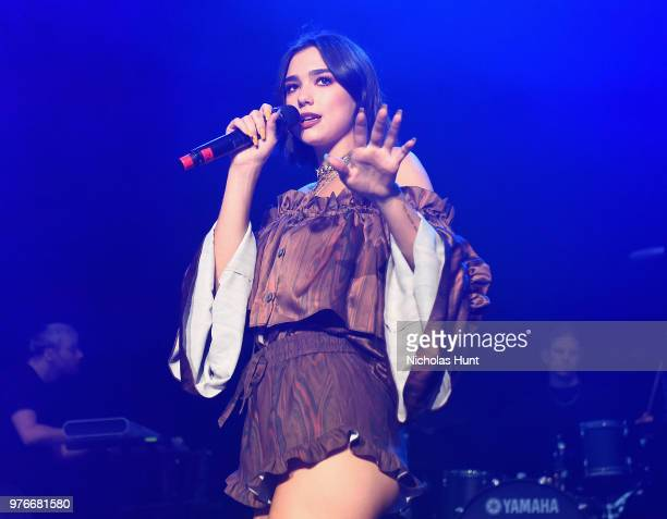 Dua Lipa performs at 1035 KTU's KTUphoria on June 16 2018 in Wantagh City