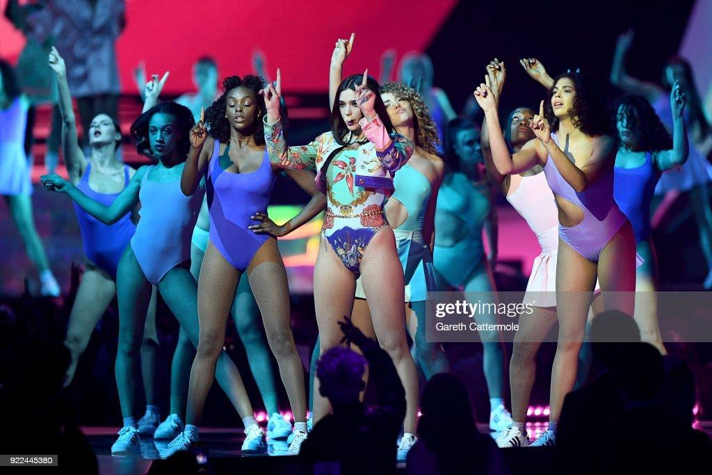 The BRIT Awards 2018 - Show : Nachrichtenfoto
