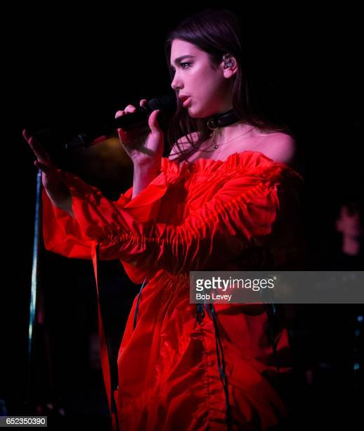 Dua Lipa performs at the House Of Blues Houston on March 11 2017 in Houston Texas