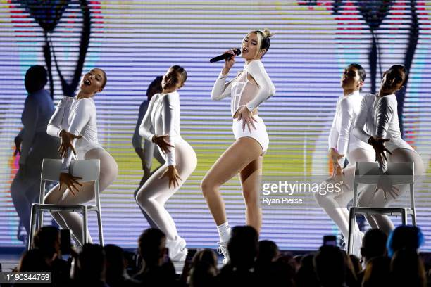 Dua Lipa performs during the 33rd Annual ARIA Awards 2019 at The Star on November 27, 2019 in Sydney, Australia.