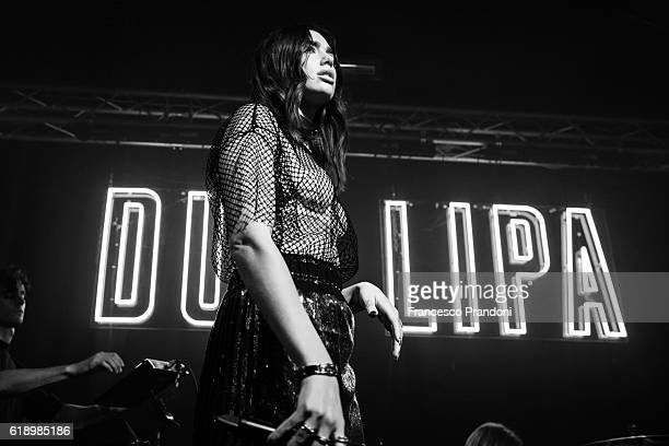 Dua Lipa Performs Iat Tunnel Club on October 28 2016 in Milan Italy