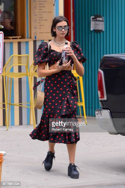 Dua Lipa seen out and about in Manhattan on June 18 2018 in New York City