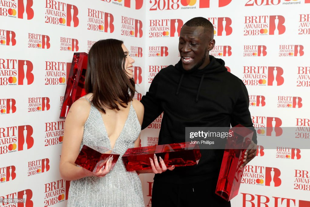 The BRIT Awards 2018 - Winners Room : ニュース写真