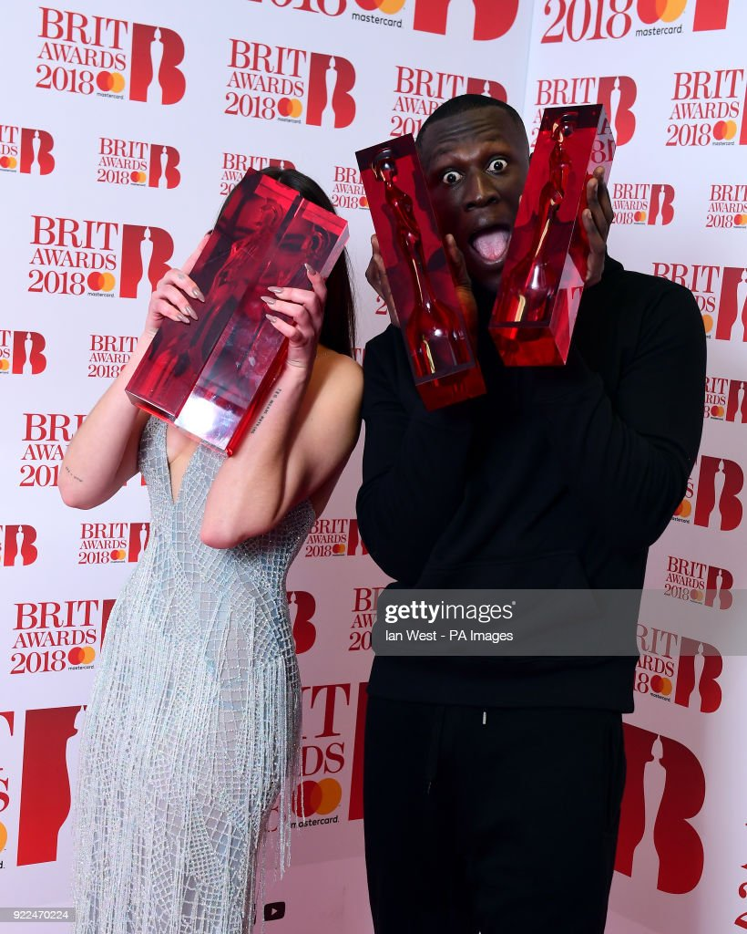 Brit Awards 2018 - Press Room - London : Fotografía de noticias