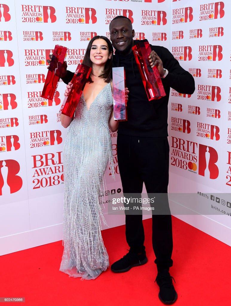 Brit Awards 2018 - Press Room - London : ニュース写真