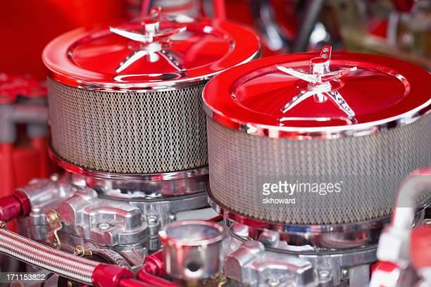 Dual Carburetors and Air Filters
