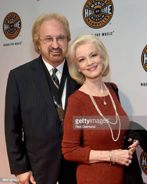 Duane Allen of The Oak Ridge Boys and Norah Lee Allen attend the Medallion Ceremony to celebrate 2017 hall of fame inductees Alan Jackson Jerry Reed...