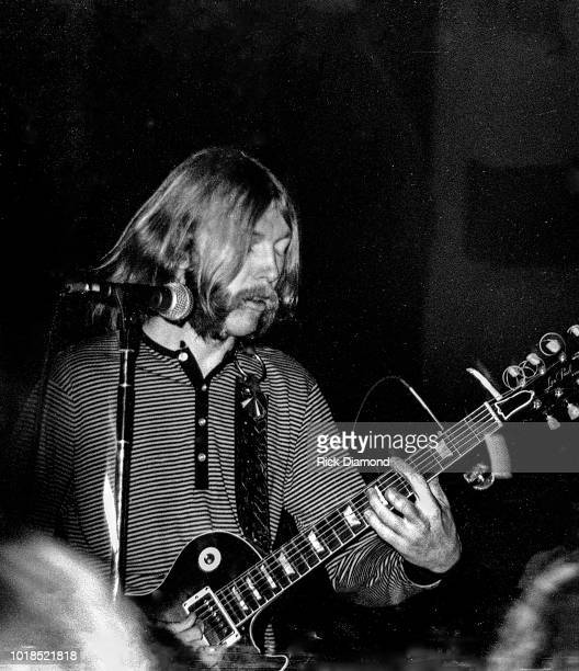 Duane Allman performs at Broward Junior College circa 1970 in Fort Lauderdale Florida