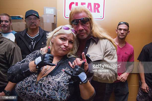 Duane 'Dog' Chapman and Beth Chapman attend the Snoop Lion concert at The Showbox Sodo on August 29 2013 in Seattle Washington