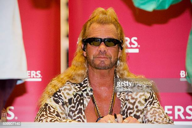 Duane 'Dog The Bounty Hunter' Chapman at his book signing for 'You Can Run But You Can't Hide' at Borders bookstore in Hollywood Mexican officials...