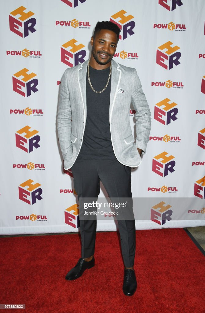 Duane Henry attends the PowHERful Benefit Gala on June 13, 2018 at Tribeca Rooftop in New York City.