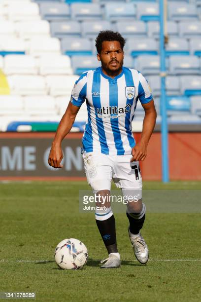 Duane Holmes of Huddersfield Town during the Sky Bet Championship match between Huddersfield Town and Nottingham Forest at Kirklees Stadium on...