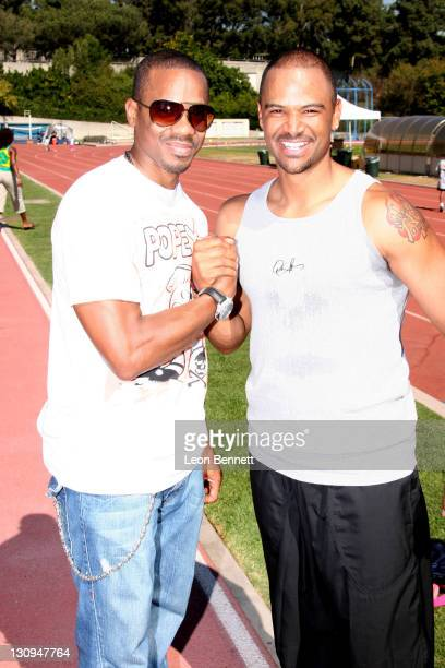 Duane Martin and Dondre Whitfield during BDADS Presents 3rd Annual 'Little Legs With Big Hearts' A Fun Run For Kids To Benefit Children Afflicted...