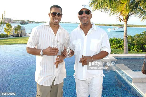 Duane Martin and Dr. Michael E. Misick attend Cocktail Party hosted by The Premier of Turks and Caicos, MICHAEL E. MISICK for The O Property...