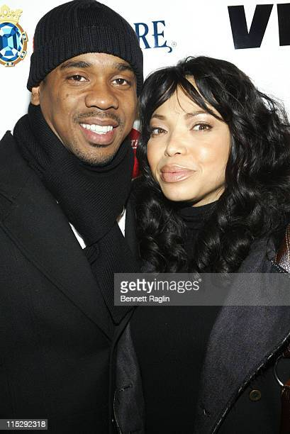 "Duane Martin and Tisha Campbell during ""ATL"" Special New York Screening - March 27, 2006 at Tribeca Cinemas in New York, New York."
