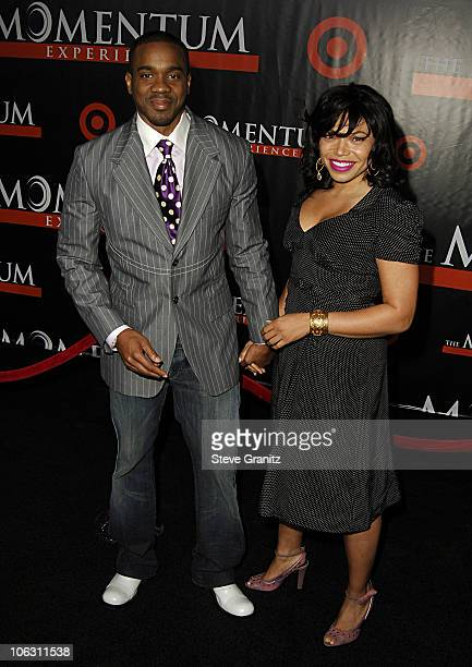 "Duane Martin and Tisha Campbell during ""The Seat Filler"" Los Angeles Premiere - Arrivals at El Capitan Theatre in Hollywood, California, United..."