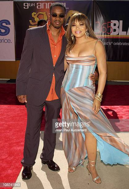 Duane Martin and Tisha Campbell Martin during 9th Annual Soul Train Lady of Soul Awards - Arrivals at Pasadena Civic Center in Pasadena, California,...