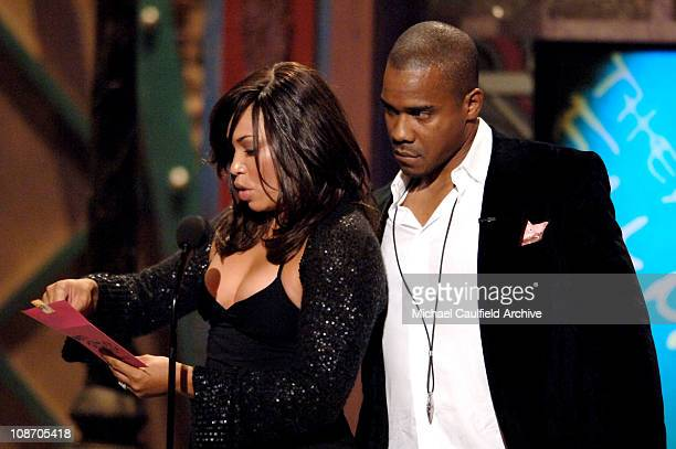 Duane Martin and Tisha Campbell, presenters of Outstanding Theatrical Film