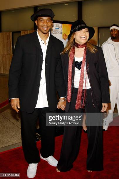 "Duane Martin and Tisha Campbell-Martin during ""Deliver Us From Eva"" Premiere at Cinerama Dome in Los Angeles, California, United States."