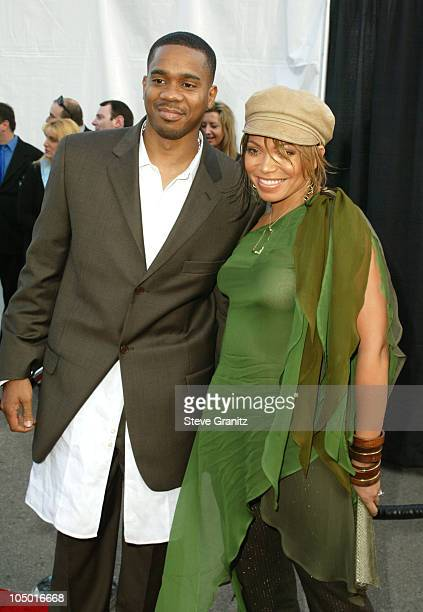 Duane Martin and Tisha Campbell-Martin during The 30th Annual American Music Awards - Arrivals at Shrine Auditorium in Los Angeles, California,...