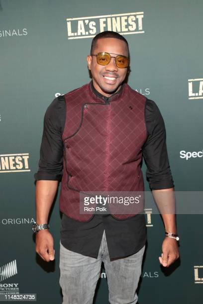 "Duane Martin attends Spectrum Originals and Sony Pictures Television Premiere Party for ""L.A.'s Finest"" at Sunset Tower on May 10, 2019 in Los..."