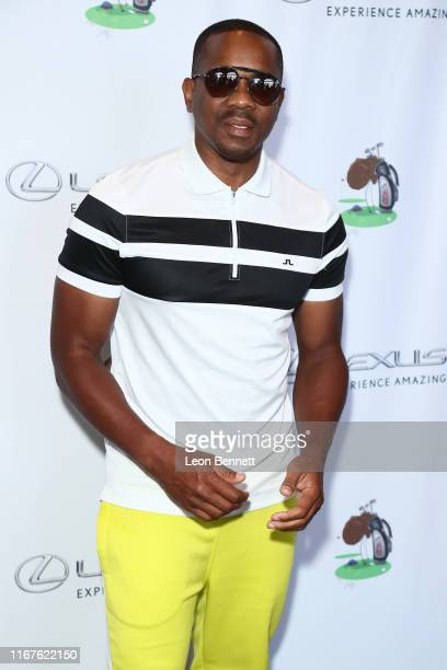 Duane Martin attends the 7th Annual Cedric The Entertainer Celebrity Golf Classic at Spanish Hills Country Club on August 12, 2019 in Camarillo,...