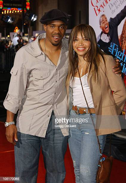 "Duane Martin & Tisha Campbell-Martin during ""The Fighting Temptations"" Premiere at Mann's Chinese Theatre in Hollywood, California, United States."
