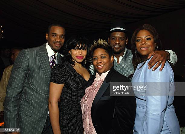 Duane Martin. Tisha Campbell-Martin, Nia Hill,president of Momentum Experience/executive producer of The Seat Filler, Blair Underwood and DeAngelea...
