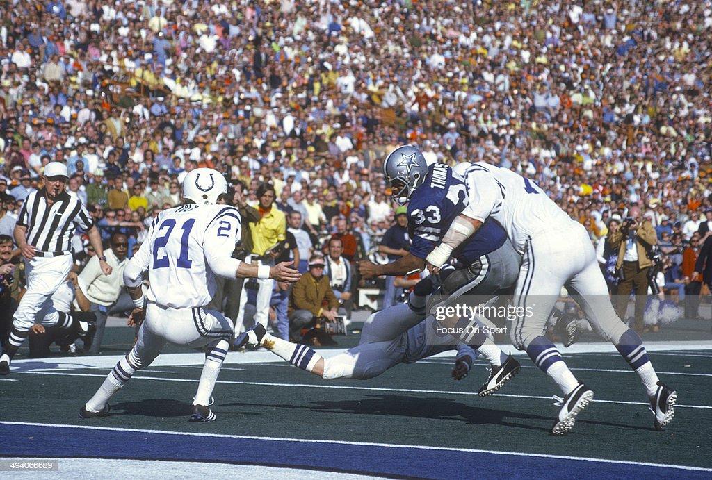 Super Bowl V - Dallas Cowboys v Baltimore Colts : News Photo