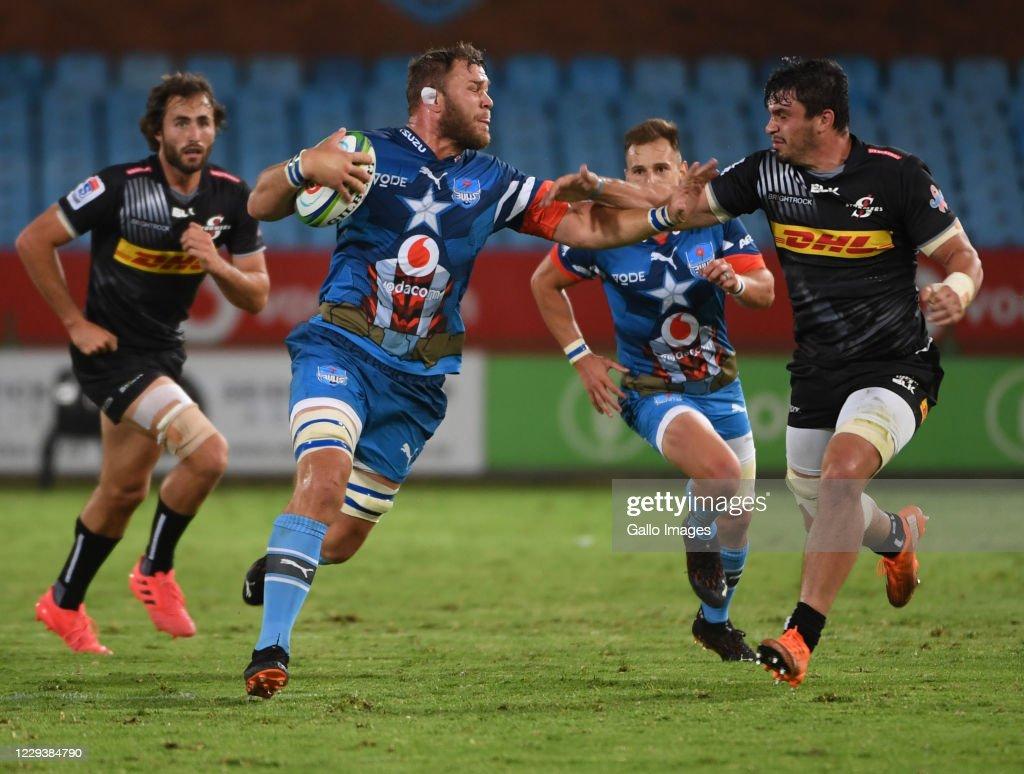 Super Rugby Unlocked: Vodacom Bulls v DHL Stormers : News Photo