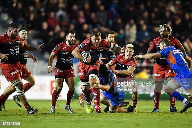 Duane Vermeulen of Toulon during the European Champions Cup match between Toulon and Scarlets on December 11 2016 in Toulon France