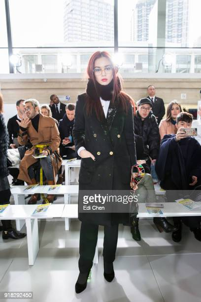 Duang Poshyanonda attends the Michael Kors Collection Fall 2018 Runway Show at the Vivian Beaumont Theatre on February 14 2018 in New York City
