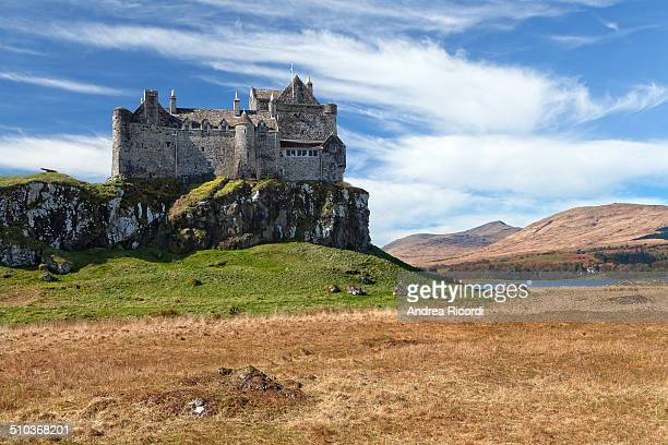 Duart Castle is a castle on the Isle of Mull, off the west coast of Scotland, within the council area of Argyll and Bute. The castle dates back to...
