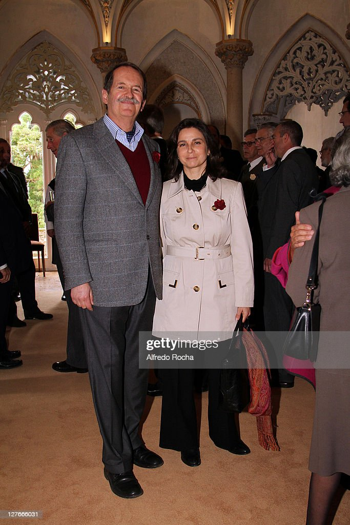 Prince Charles And The Duchess Of Cornwall Visit Portugal - Day 2 : News Photo
