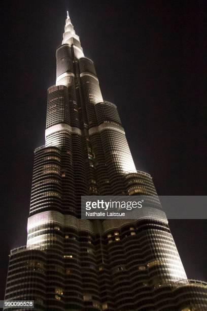 dubai 9 - burj khalifa stock photos and pictures