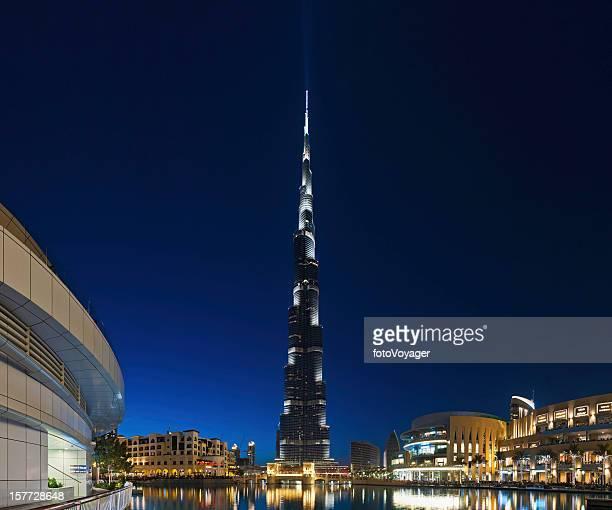 dubai burj khalifa shopping malls - burj khalifa stock pictures, royalty-free photos & images