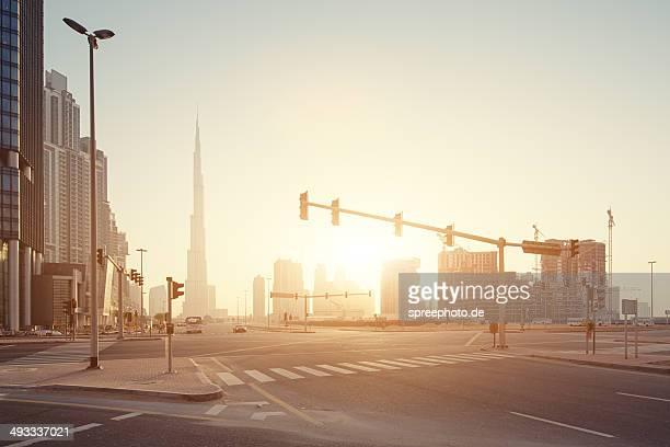 Dubai Burj Khalifa sunrise