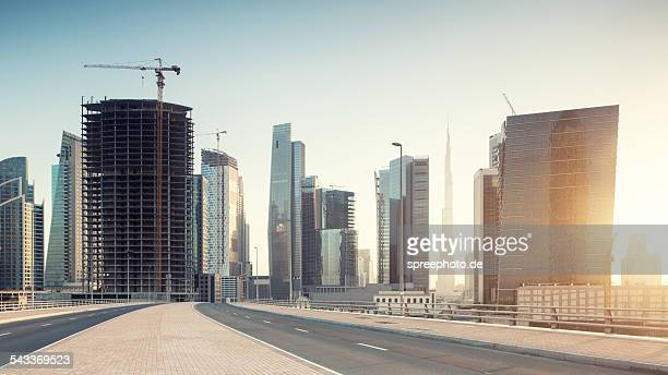 Dubai business bay construction aera