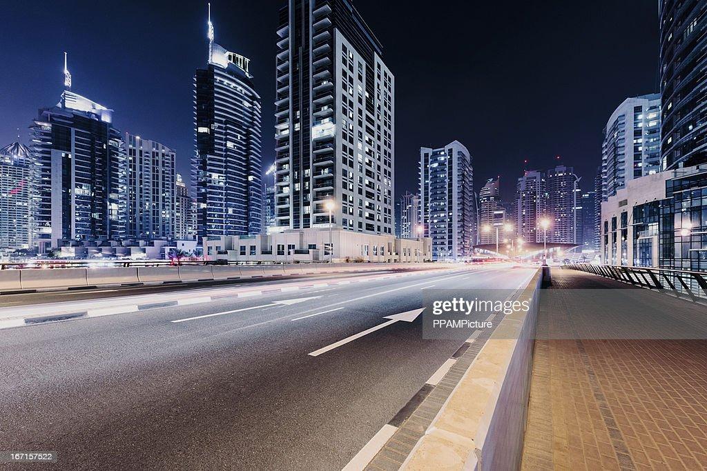 Autoroute ville de Dubaï : Photo