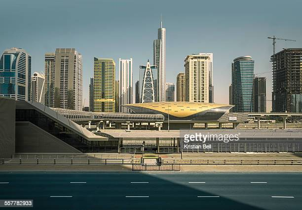 Dubai city scene with infrastructure