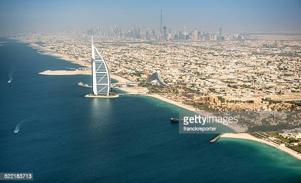 dubai coastline - jumeirah stock pictures, royalty-free photos & images
