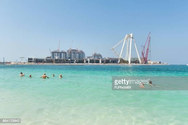 Dubai - Construction of new giant Ferris Wheel